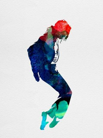 Michael Watercolor by Lora Feldman