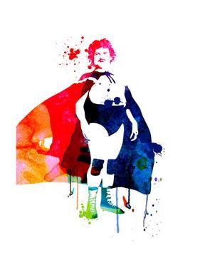 Nacho Watercolor by Lora Feldman