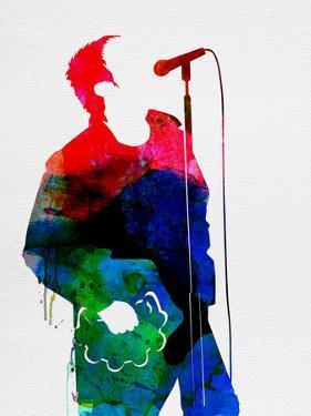 Noel Watercolor by Lora Feldman