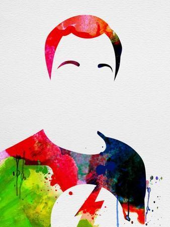 Sheldon Watercolor by Lora Feldman