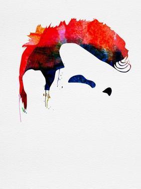 Steven Patrick Watercolor by Lora Feldman