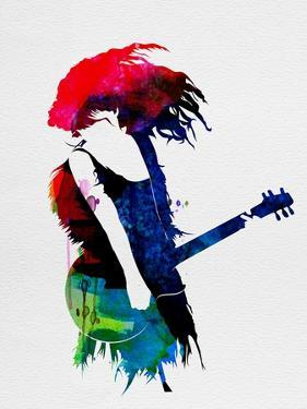 Taylor Watercolor by Lora Feldman