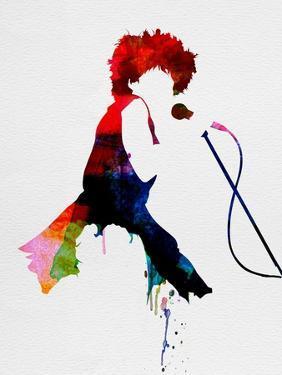 Tina Watercolor by Lora Feldman