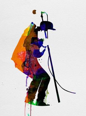 Tom Watercolor by Lora Feldman