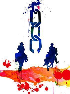 Unchained Watercolor by Lora Feldman