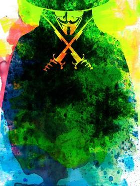 Vendetta Watercolor 2 by Lora Feldman