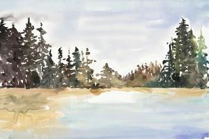 Evergreen View by Lora Gold