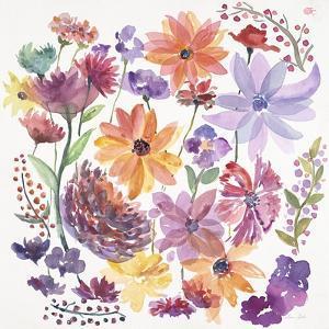 Happy Dancing Garden by Lora Gold