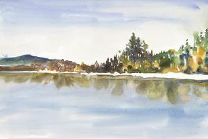 Lakeside Reflections by Lora Gold