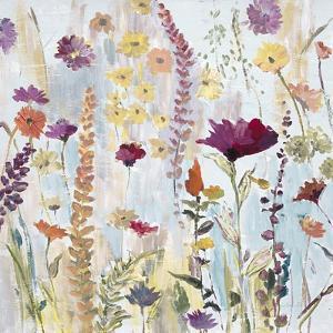 Rain Y Day Garden by Lora Gold