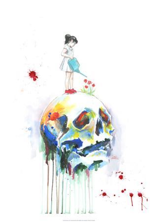 Skull by Lora Zombie