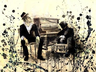 Tom Waits by Lora Zombie