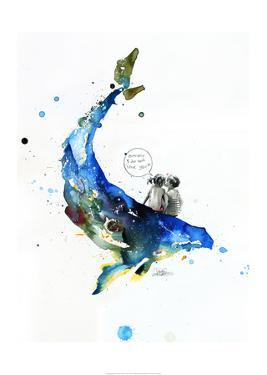 Whale by Lora Zombie