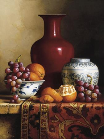 Oriental Still Life I by Loran Speck