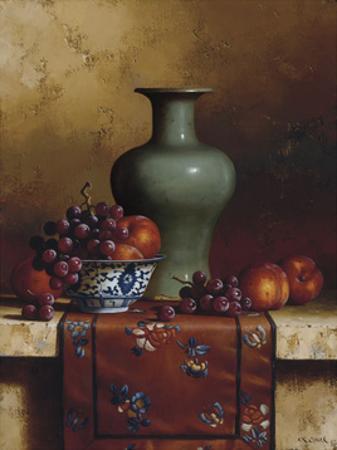 Oriental Still Life II by Loran Speck