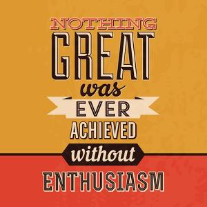 Enthusiasm by Lorand Okos