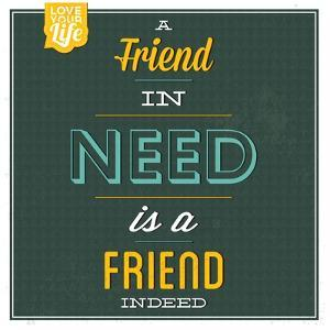 Friend Indeed by Lorand Okos