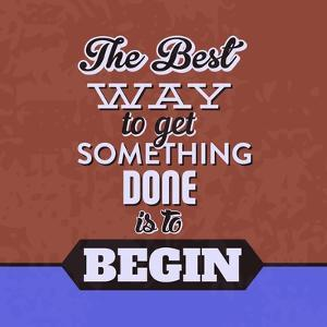 Get Something Done 1 by Lorand Okos