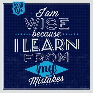 I'm Wise 1 by Lorand Okos