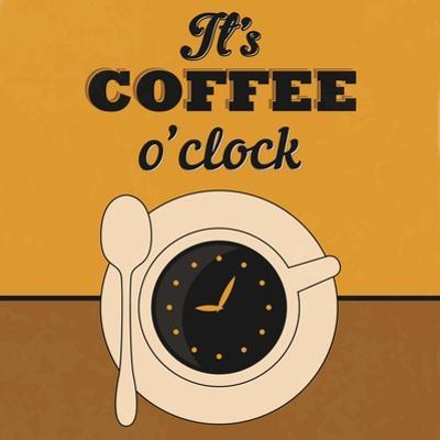 It's Coffee O'Clock by Lorand Okos