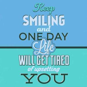 Keep Smiling 1 by Lorand Okos