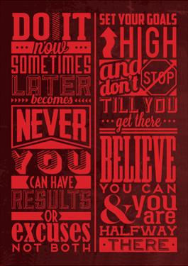 Motivation Set Red by Lorand Okos