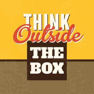 Think Outside the Box by Lorand Okos