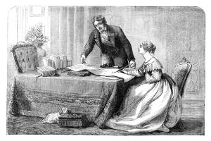 Lord Melbourne (1779-184) Instructing a Young Queen Victoria 1819-190), 1837