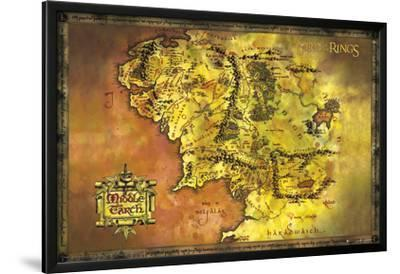 Lord Of The Rings-Classic Map