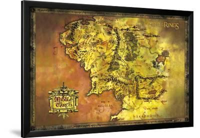 Lord of the Rings Maps Posters for sale at AllPosterscom