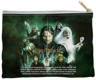 Lord Of The Rings - Hero Group Zipper Pouch