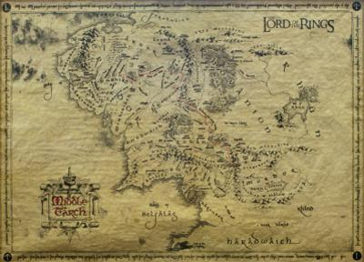 Lord of the Rings-Map