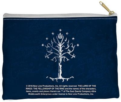 Lord Of The Rings - Tree Of Gondor Zipper Pouch