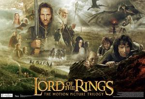 Lord Of The Rings Trilogy Movie Poster