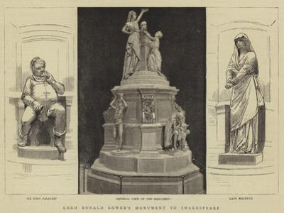 Lord Ronald Gower's Monument to Shakespeare