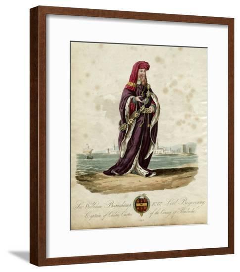 Lord William Bergavenny--Framed Giclee Print