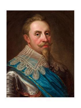 Gustavus Adolphus of Sweden by Lorenz II Pasch