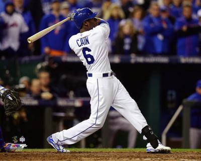Lorenzo Cain Game 2 of the 2015 World Series