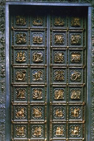 The North Doors of the Baptistry of San Giovanni 1403-1424Lorenzo Ghiberti & Lorenzo Ghiberti Posters at AllPosters.com