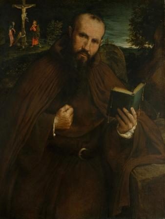 Brother Gregorio Belo of Vicenza, 1547 by Lorenzo Lotto