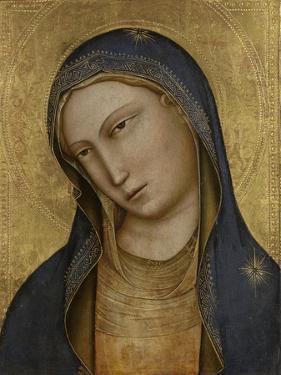 Bust of Saint Mary by Lorenzo Monaco