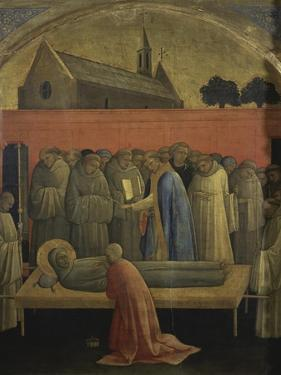 Death of St. Francis of Assisi by Lorenzo Monaco