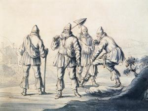 Swedes Who Work the Land, Sweden 17th Century by Lorenzo Monaco