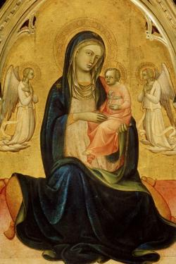 The Virgin and Child with Angels (Madonna of Humilit), C1408-C1410 by Lorenzo Monaco