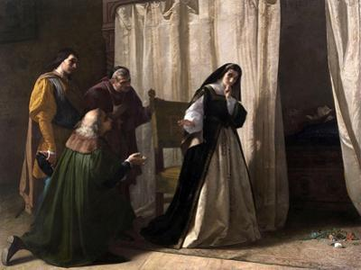 The Dementia of Juana of Castile, 1866