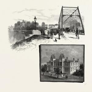 Lorne Bridge, Brantford (Top), Collegiate Institute, Brantford (Bottom), Canada, Nineteenth Century