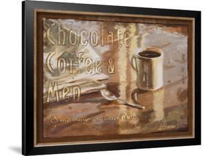 Coffee, Men, Chocolate by Lorraine Vail