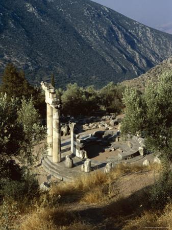 The Tholos, Delphi, Unesco World Heritage Site, Greece, Europe