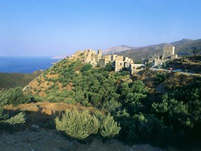 Vathia, Peloponnese, Greece