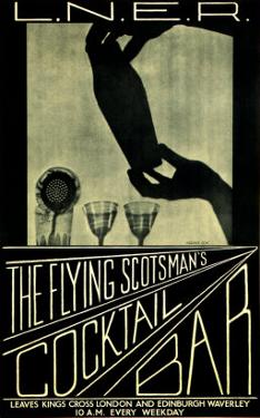 The Flying Scotsman's Cocktail Bar by Lorrie Beck